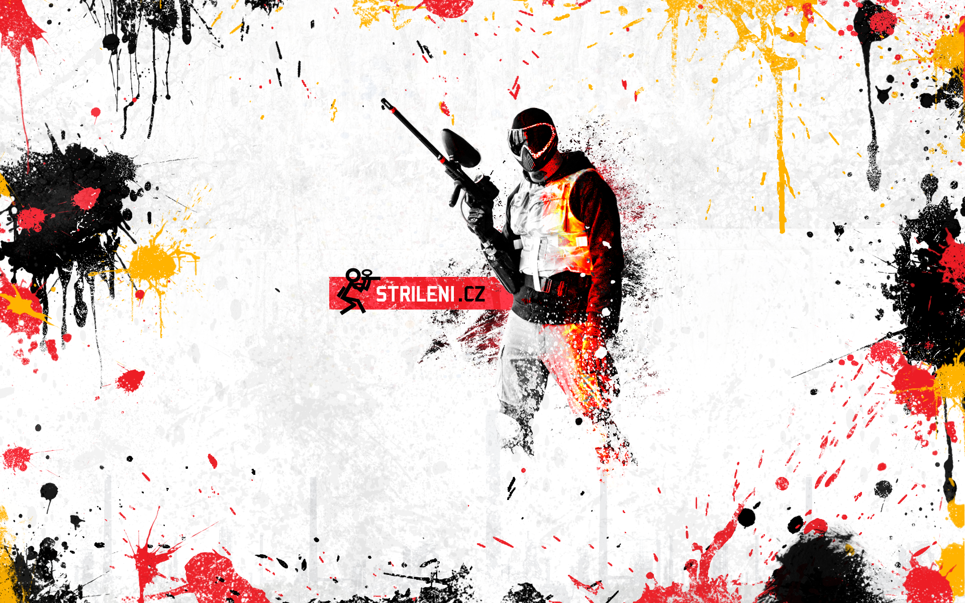 Are you a fan of Paintball? So download background to your ...